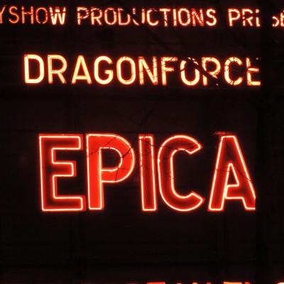 Epica (+ Dragonforce) à l'Olympia (29.01.2015)