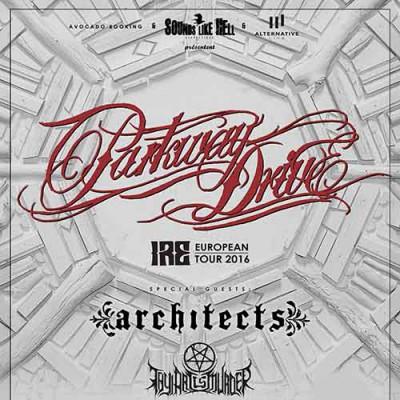 Parkway Drive (+ Architects + Thy Art is Murder) au Transbordeur (07.02.2016)
