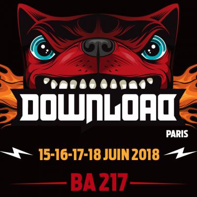 Underoath au Download Festival France 2018