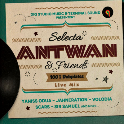 Selecta Antwan and Friends 100 % Dubplates Live Mix