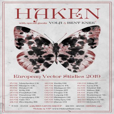 Vola en concert avec Haken en mars prochain