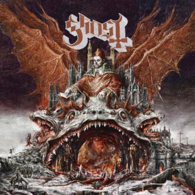 Ghost (+ Candlemass) au Zénith de Paris (7.02.19)
