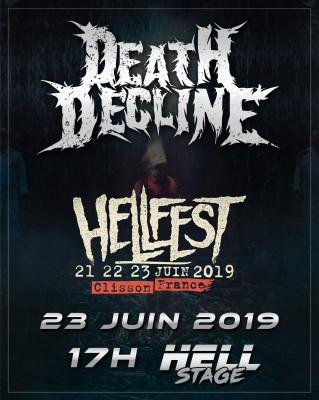 Death Decline sera au Hellfest 2019  – nouvelles dates
