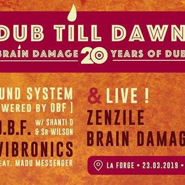 Brain Damage + Zenzile + O.B.F + Vibronics – La Forge (42) – 23.03.2019