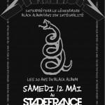 Metallica au Stade de France (12.05.2012)