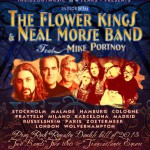 The Flower Kings & Neal Morse Band feat. Mike Portnoy à Paris (04.03.12)