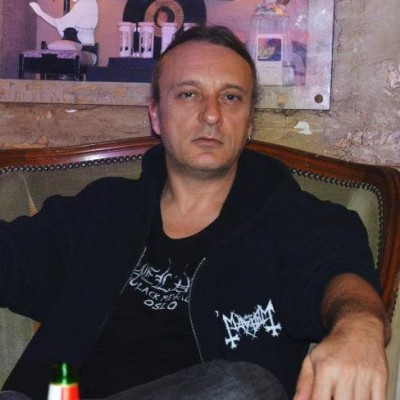 Necrobutcher, co-fondateur et bassiste de Mayhem