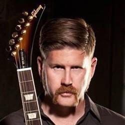Bill Kelliher, guitariste de Mastodon, au Main Square 2014