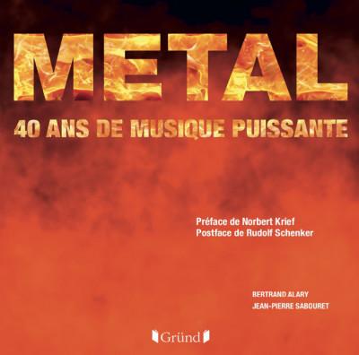 Sortie d'un livre de photos sur le metal : Metal, 40 ans de musique puissante