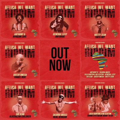 Anthony B – African Love (Conquering Sound)