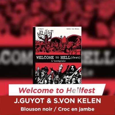 La BD Welcome To HELL(fest) en lice pour les Victoires du Rock et du Metal