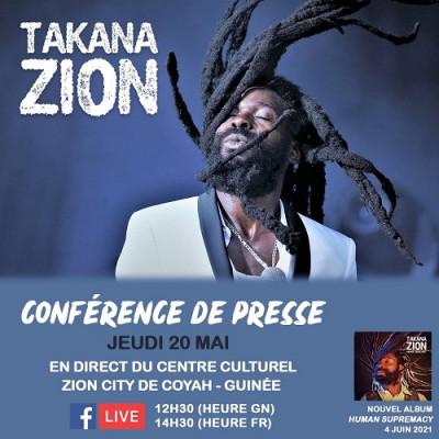 Takana Zion – Conférence de presse