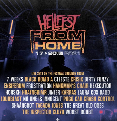 Hellfest From Home : édition en ligne du festival du 17 au 20 juin