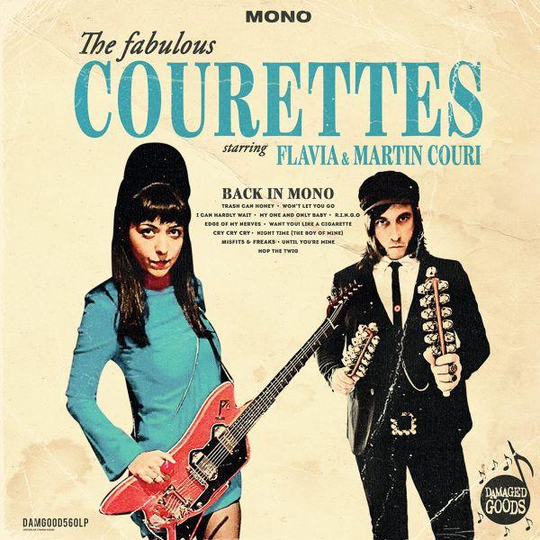 The Courettes are Back… In Mono ! La claque garage de 2021 !