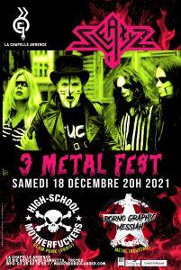 Sleazyz + guests en concert le 18 décembre 2021 à Troyes
