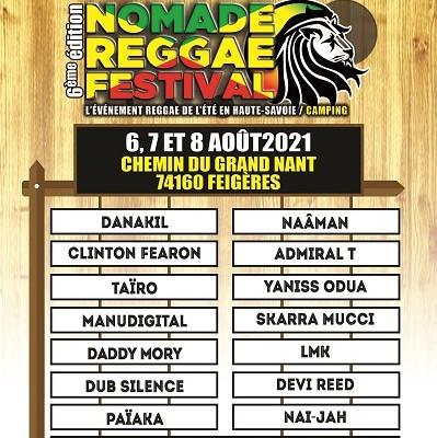 Nomade Reggae Festival – Feigères (74) – 6/7/8 août