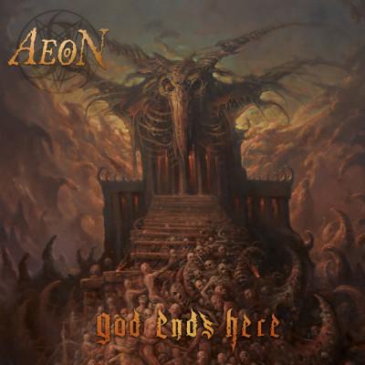 """Aeon dévoile les détails de son nouvel album, """"God Ends Here"""","""