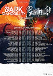 Ensiferum et Dark Tranquillity en tournée au printemps 2022