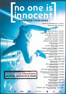 No One Is Innocent – Ennemis Tour 2022