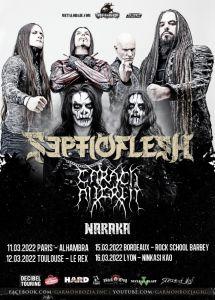 Septicflesh en tournée en mars 2022