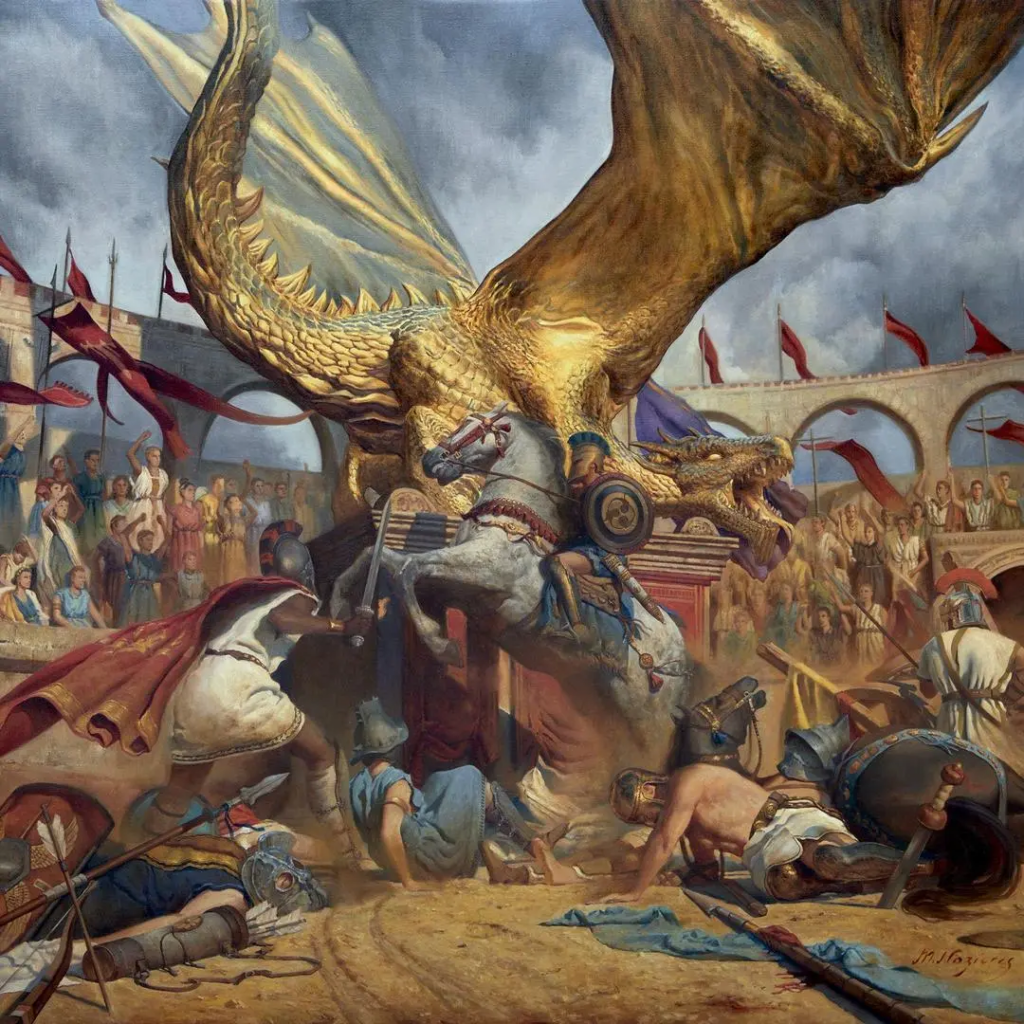 Trivium In the Court of the Dragon artwork