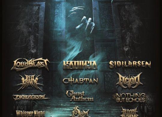 Nantes metal fest 2021 affiche